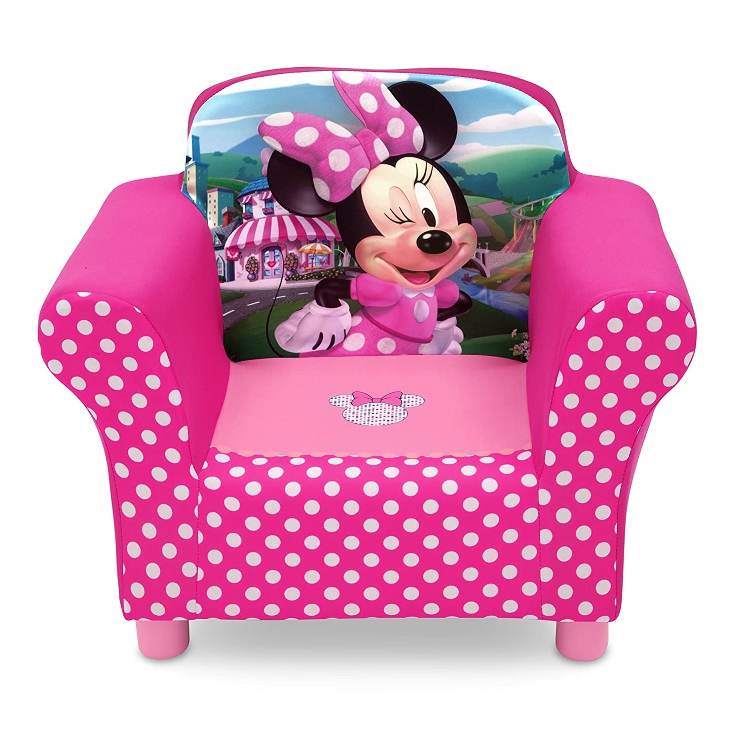 Amazon Delta Children Disney Minnie Mouse Upholstered Chair Baby