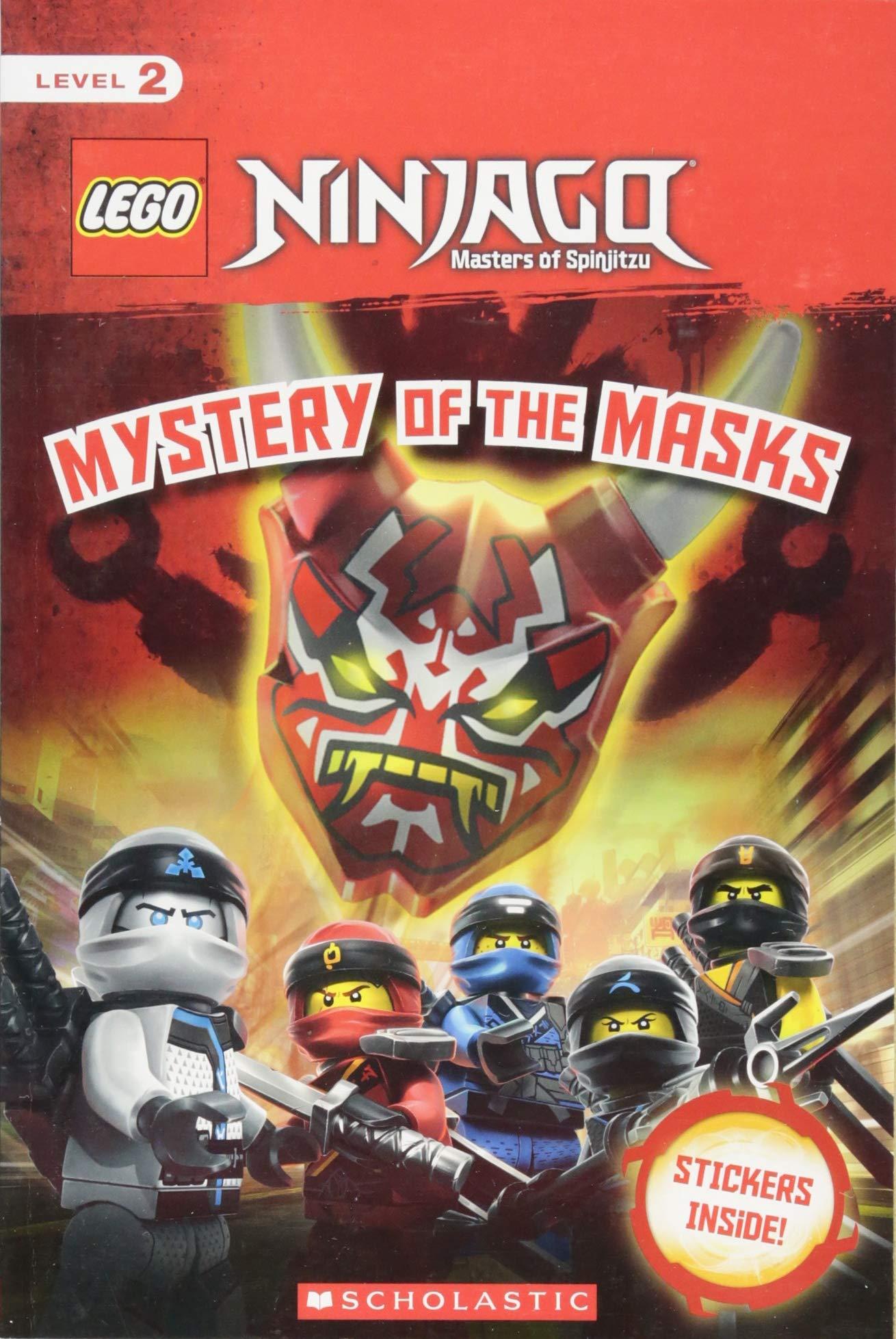 Amazon com: Mystery of the Masks (LEGO NINJAGO Reader #17