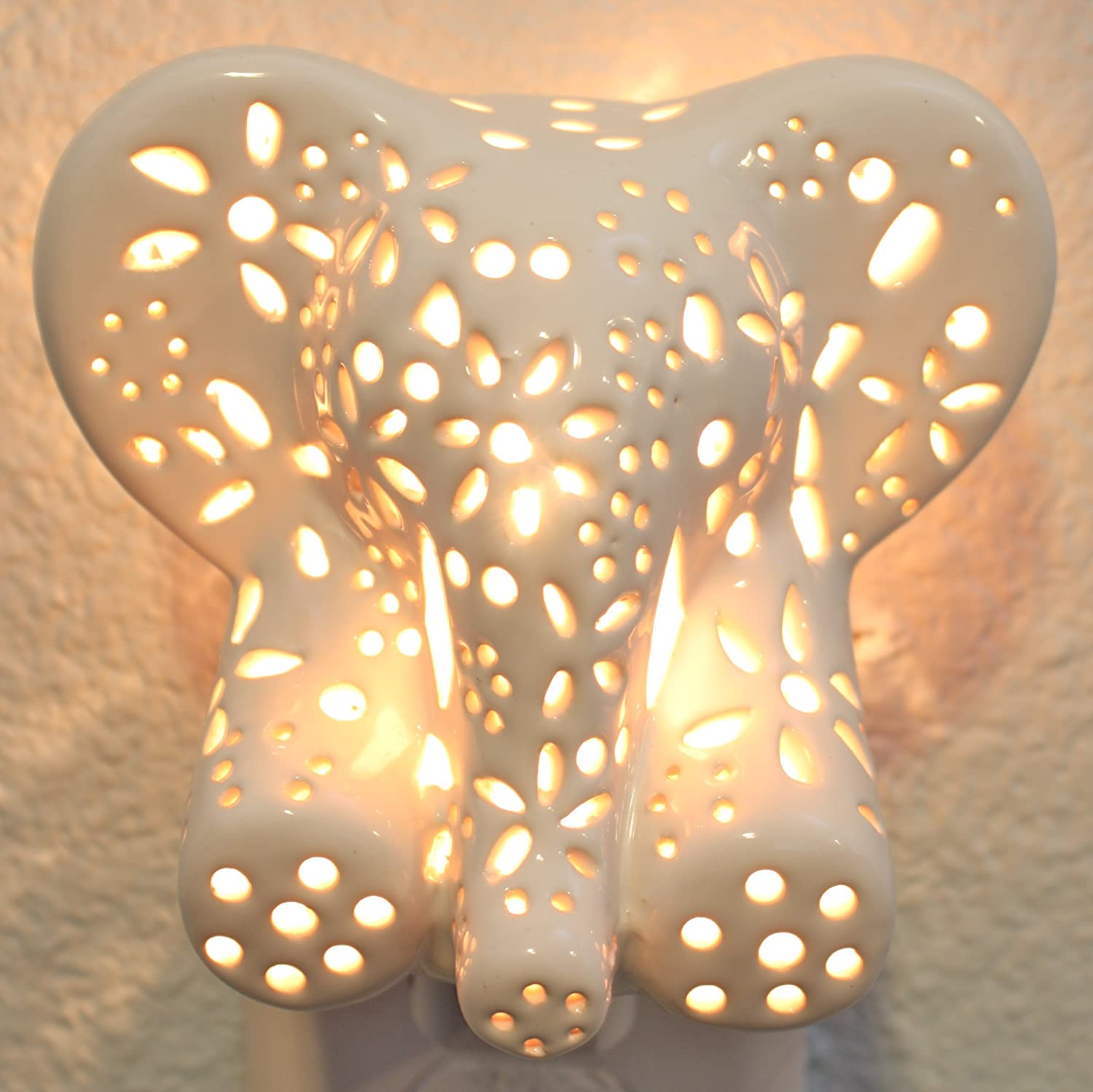 Stacked elephant lamp - Amazon Com Child S Nursery Lamp Night Light Cotton Elephant Available In Multiple Animals And Colors Baby