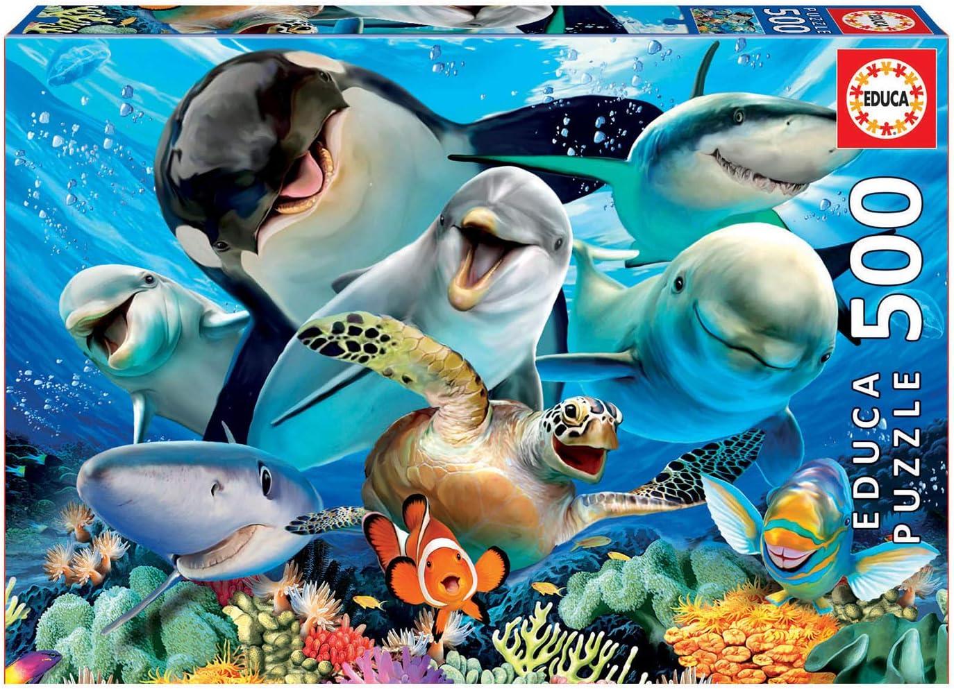 Animales acuáticos puzle