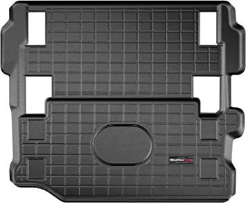 401198 Weathertech Custom Fit Cargo Liner Trunk Mat For Jeep Wrangler Black