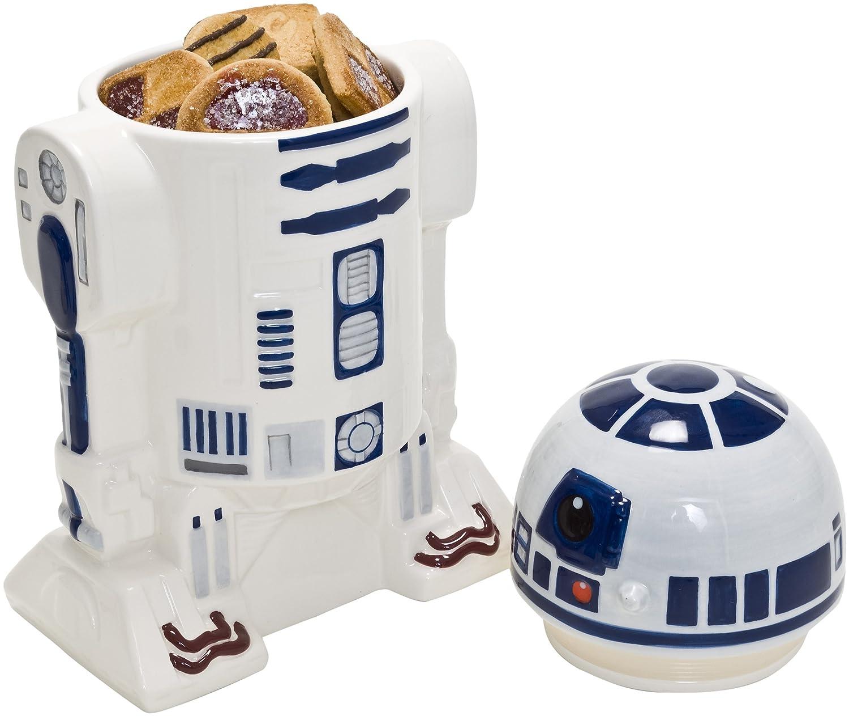 Star Wars Tarro de Galletas de cer/ámica BB-8 con Tapa