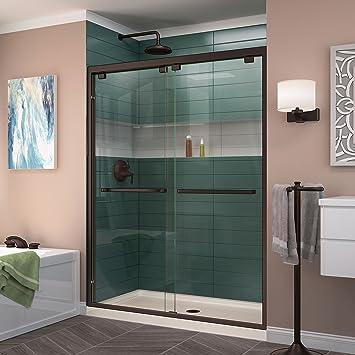 frameless sliding shower door hardware doors home depot width bypass bronze