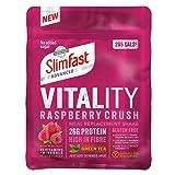 SlimFast Vitality Raspberry Crush Powder, 440g - Total 10 Servings