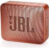JBL GO 2 Portable Bluetooth Waterproof Speaker (Cinnamon)