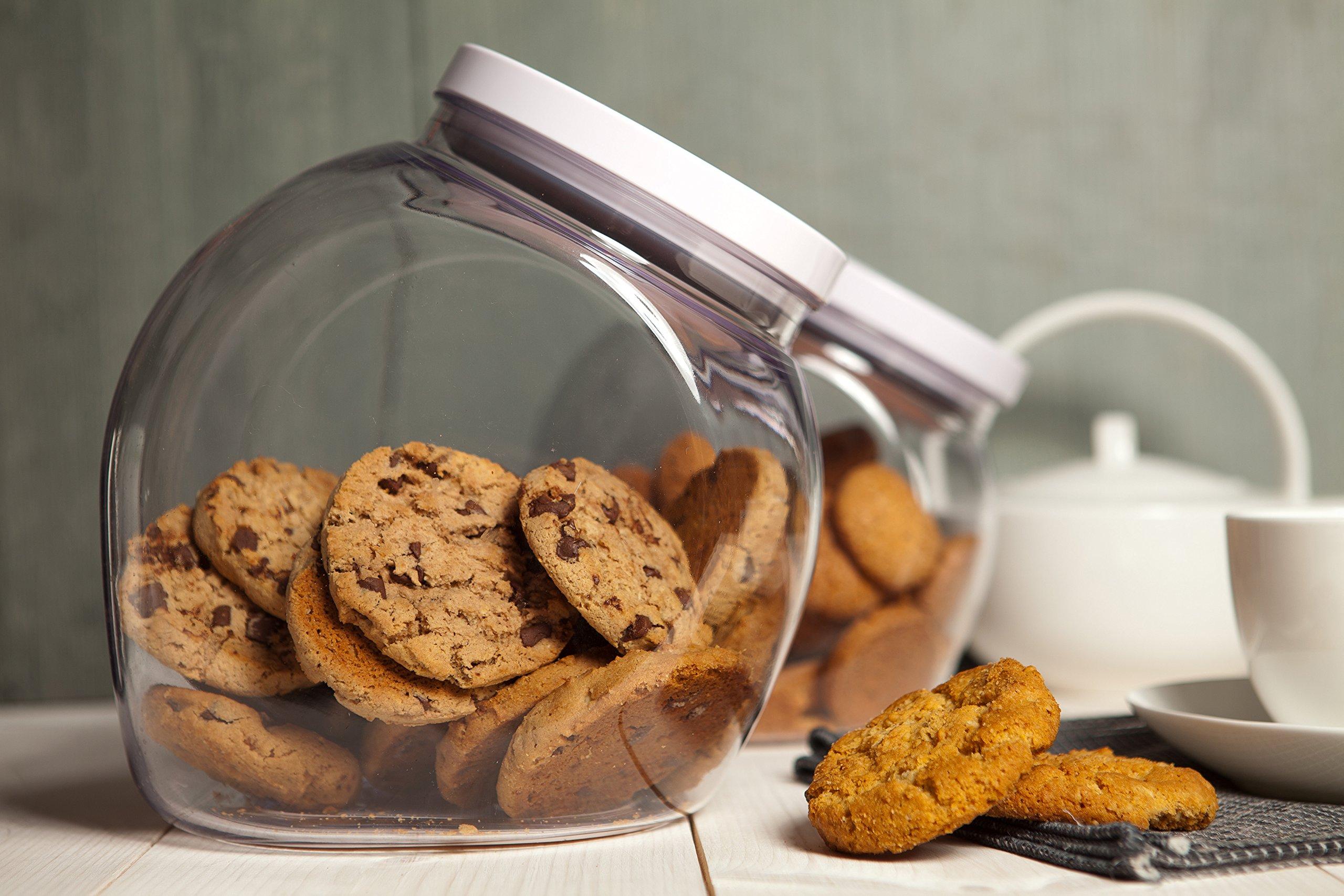 OXO Good Grips Airtight POP Medium Cookie Jar (3.0 Qt) by OXO (Image #5)