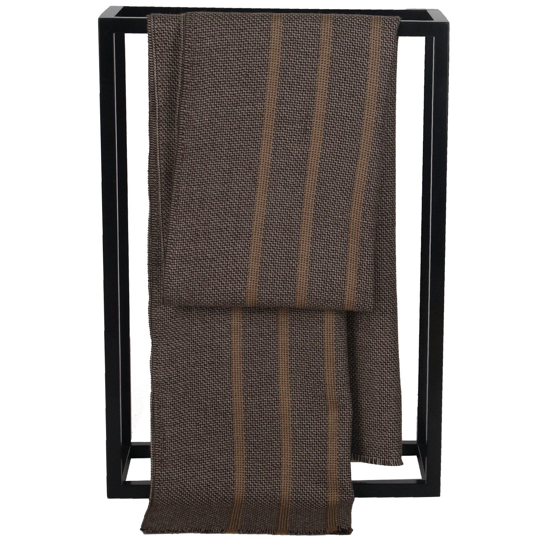 Wool Scarf Men, Muffler Warm Winter Soft Long Striped Thick Fashion 67×16 Valentine Gift YR71JC074-4