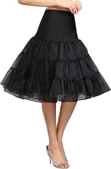 SimpleLife Multi Layered Petticoat Underskirts Net Skirts Dresses for Women Girls Party Tutu Half Slips