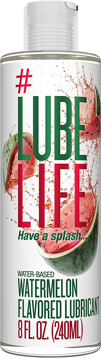 #LubeLife Water Based Watermelon Flavored Lubricant