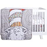 Dr. Seuss Peek-A-Boo Cat in The Hat 4 Piece Baby Crib Bedding Set