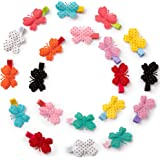 """20 Pcs 1.8"""" Colorful Butterfly Hair Clips For Baby girls,Toddlers, Kids & Teens"""