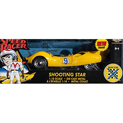 Speed Racer Shooting Star diecast model car 1:18 die cast by Ertl: Toys & Games