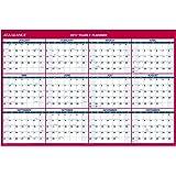 "AT-A-GLANCE Wall Calendar 2017, Erasable, Reversible, Vertical/Horizontal, 12 Months, 48 x 32"" (PM326-28)"