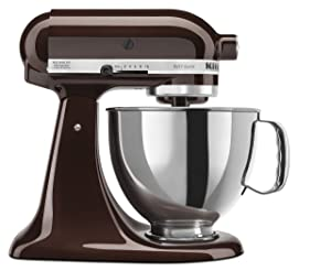 KitchenAid RRK150ESArtisan Series Stand Mixer, 5 quart, Espresso (Certified Refurbished)