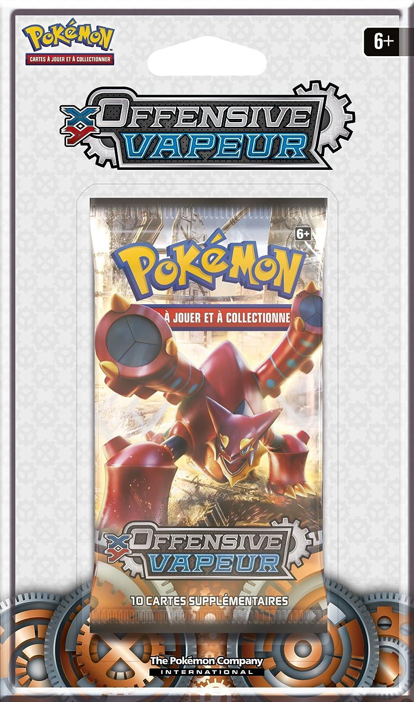 Asmodee nbsp;POBL28 - Blíster Booster Pokémon XY11 Offensive vapeur: Amazon.es: Juguetes y juegos