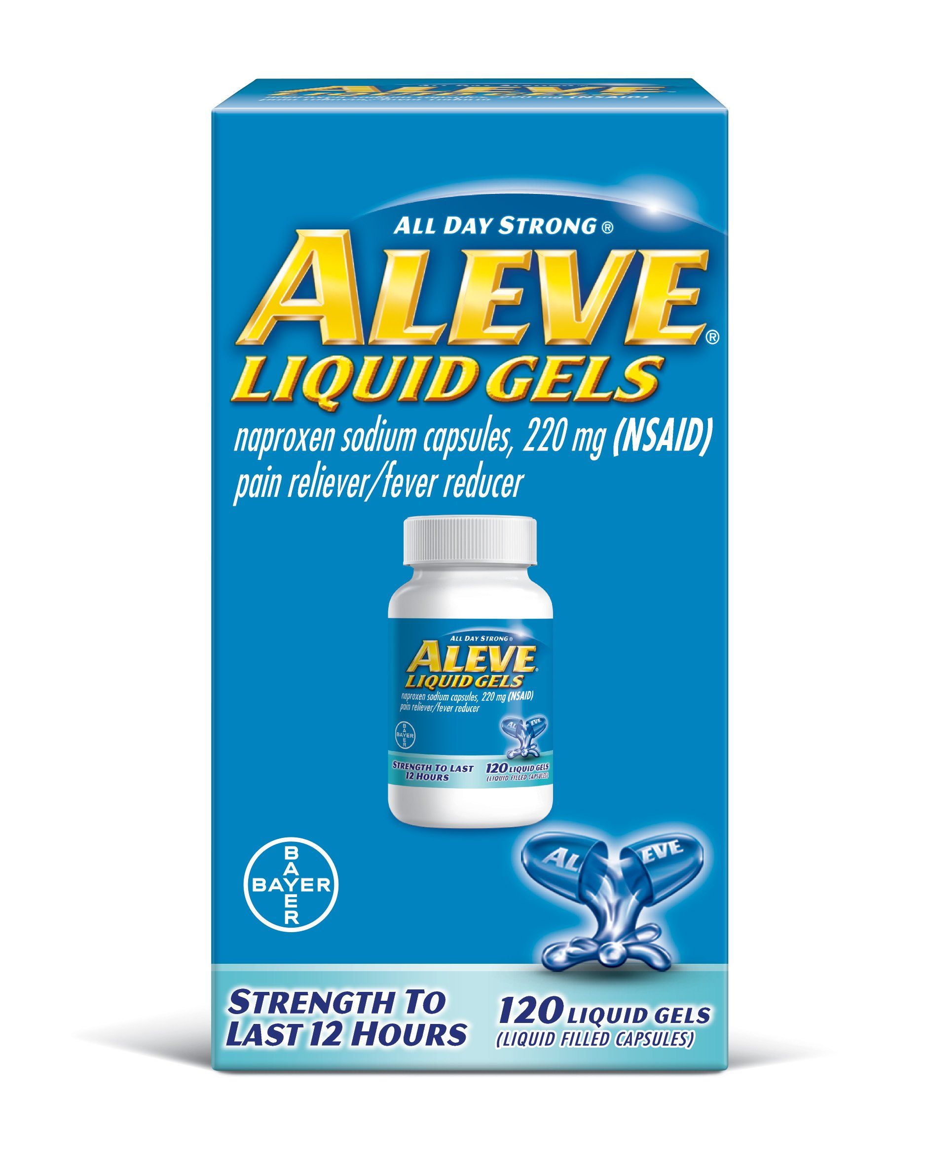 Amazon Aleve Liquidgels 160 Liquidgels Health Personal Care