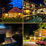 Aootek 120 Led Solar outdoor motion sensor lights