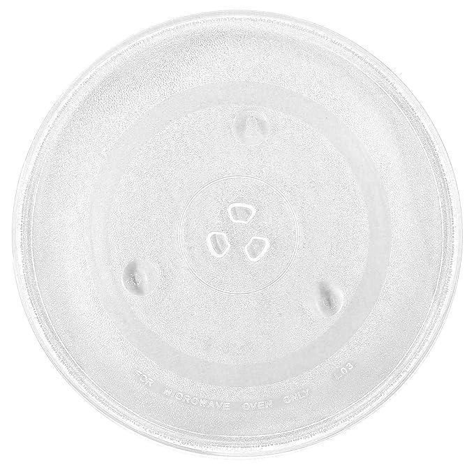 Amazon.com: Plato giratorio de cristal para microondas de ...