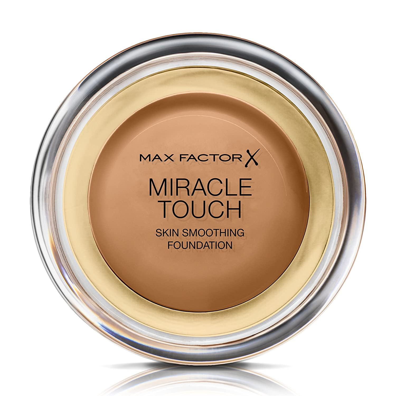 Max Factor Miracle Touch Liquid Illusion Foundation, No. 85 Caramel,1per Pack (1 x 11.5 g)