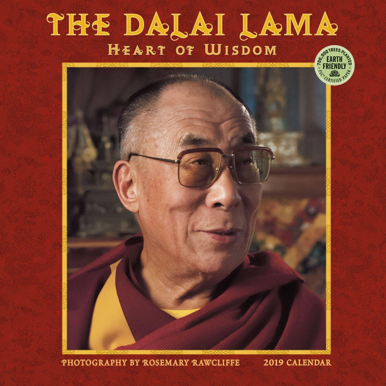 the dalai lama 2019 wall calendar heart of wisdom