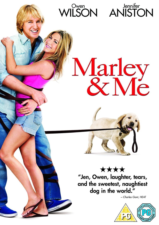 Marley & Me [DVD]: Amazon.co.uk: Owen Wilson, Jennifer Aniston, Eric Dane,  Kathleen Turner, Alan Arkin, David Frankel: DVD & Blu-ray
