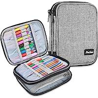 ProCase Crochet Hook Case (up to 6.5 Inches), Travel Organizer Zipper Bag for Various Crochet Hooks, Circular Knitting…