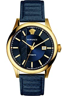 83f104d481 Amazon.com: Versace Men's AIAKOS Automatic Stainless Steel Swiss ...