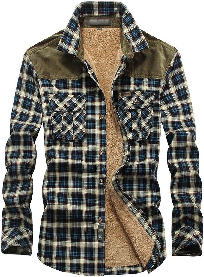 Vintage Mens Jacket Vintage Flannel Shirt Jacket 80s Flannel Plaid Double Pocket Outdoor Shirt Jacket Mens Medium Blue 80s Flannel Jacket