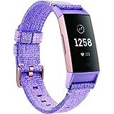 Fitbit FB410RGLV-CJK Charge 3 Se Lavender Woven, Lavender Woven