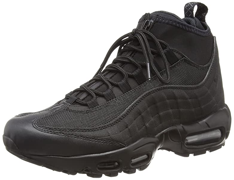 a446dd4a85 Amazon.com | 806809-002 MEN AIR MAX 95 SNEAKERBOOT NIKE BLACK/BLACK ...