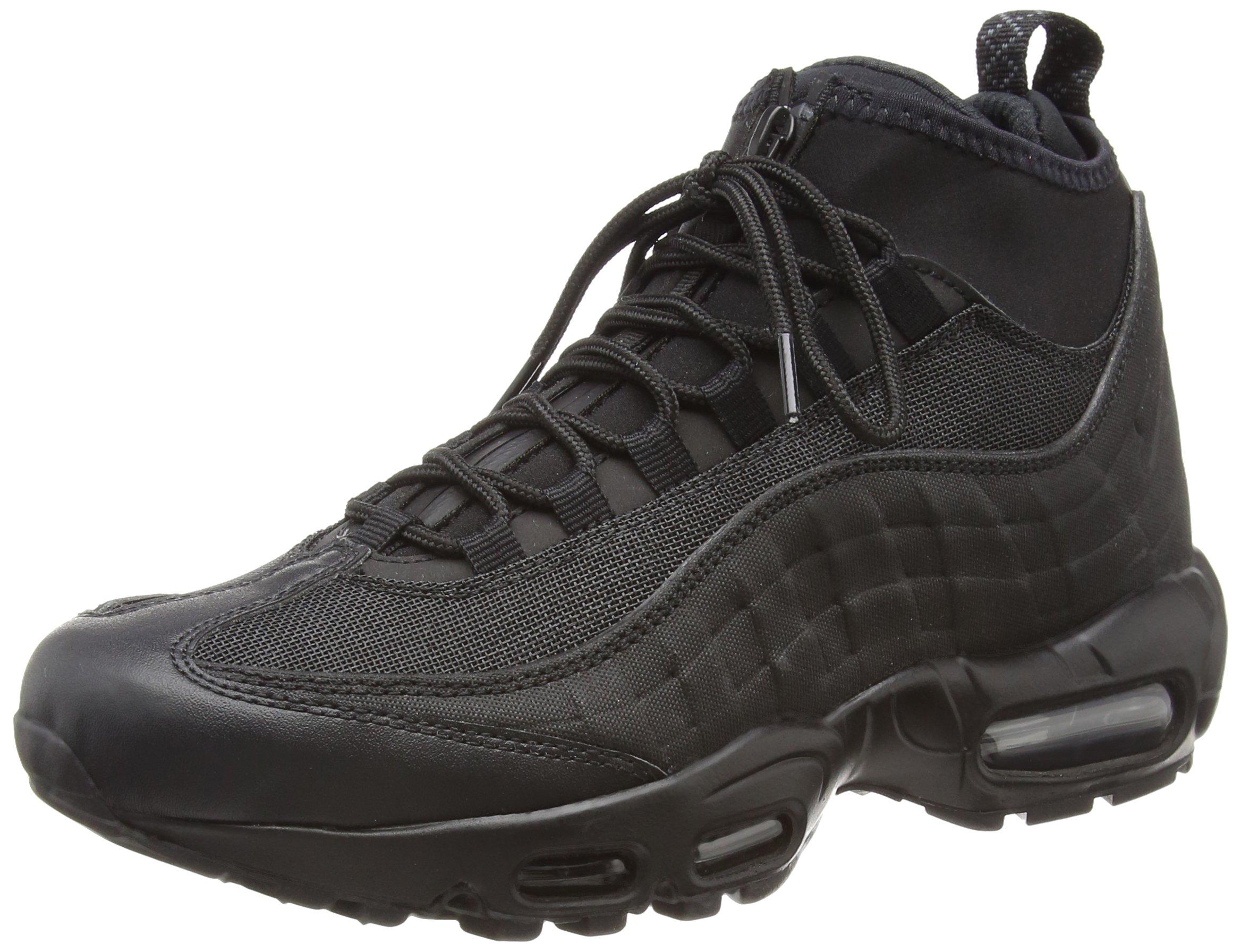 innovative design c9409 5acf0 Galleon - NIKE Men s Air Max 95 Sneakerboot (6 D(M) US, Black Black)