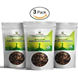 Organic Raw Vegan Paleo Granola Superfood Snack By Peak Performance. Grain Free & Gluten Free. Zero Sugar Added. Great Alternative To Paleo Bars & Cereal (3 Pack)
