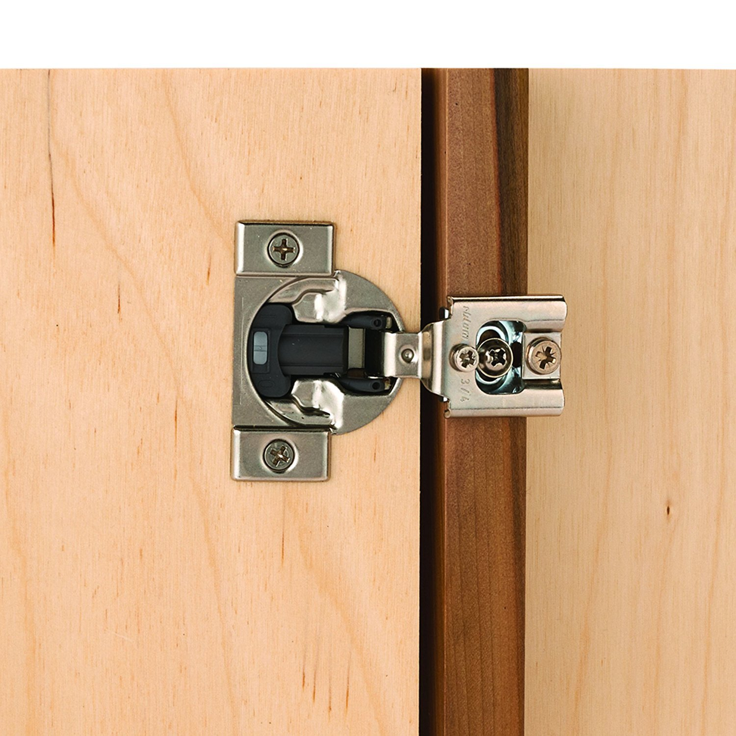 Blum Compact Face Frame Hinge With Blumotion 12 Overlay Pair