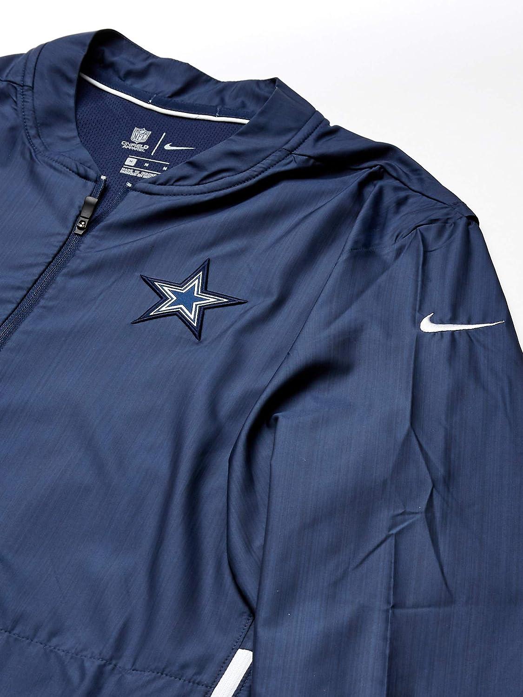 Dallas Cowboys NFL Mens Nike Lockdown Half-Zip Jacket