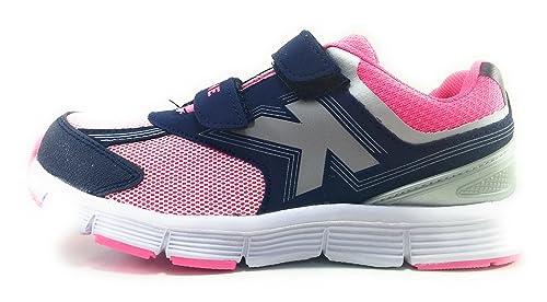 Kelme Action V Zapatillas de Niña Running con Velcro (28)