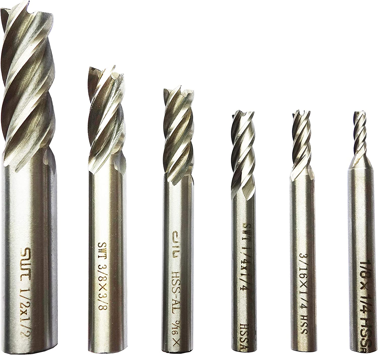 "HSS LONG SERIES  ENDMILL 1//8/""  DIAMETER British Made HSS Milling Cutter"