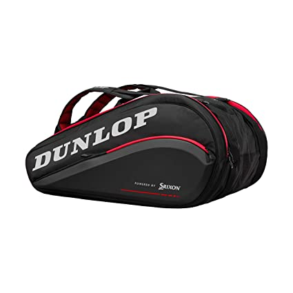 DUNLOP Cx Performance 15 Rkt Thermo Blk/Red Raquetero Negro - Rojo ...