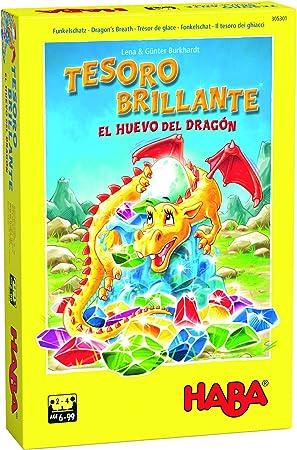 Haba Juego de Mesa Tesoro Brillante-El Huevo del Dragón-ESP ...