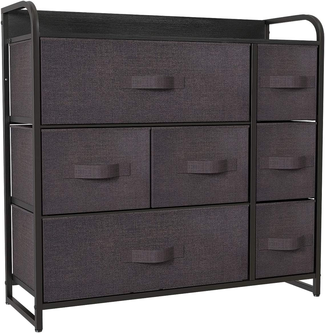 12. YITAHOME Fabric Dresser with 7-Drawers: