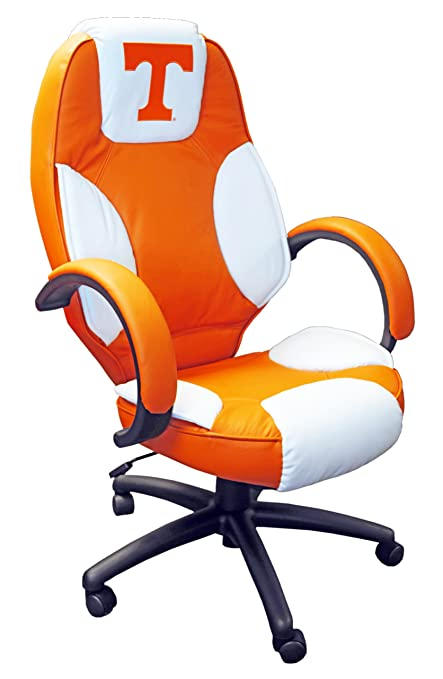 NCAA College Tennessee Volunteers Leather Office Chair
