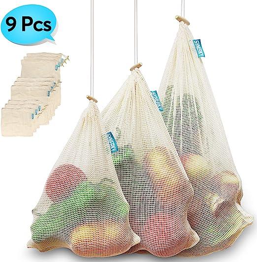 Bolsas reutilizables para productos Synerky, bolsas de verduras de ...