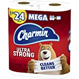 Charmin Ultra Strong Toilet Paper 6 Mega Roll, 286 Sheets Per Roll