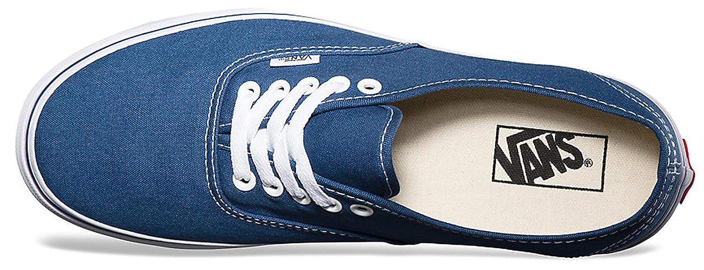 Vans Authentic Unisex Skate Trainers Shoes B00AD68RGA 10.5 B(M) US Women / 9 D(M) US Men Navy