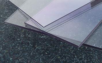 transparente Plaque Polycarbonate UV diff/érentes Tailles 500 x 400 mm, 6 mm /épaisseurs 2-20 mm PC incolore large s/élection alt-intech/®