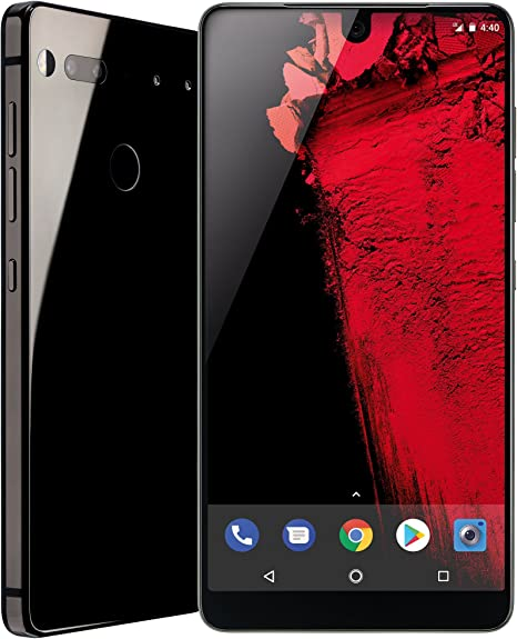 Essential Phone 128 GB Unlocked with Full Display, Dual Camera – Black Moon: Amazon.es: Electrónica