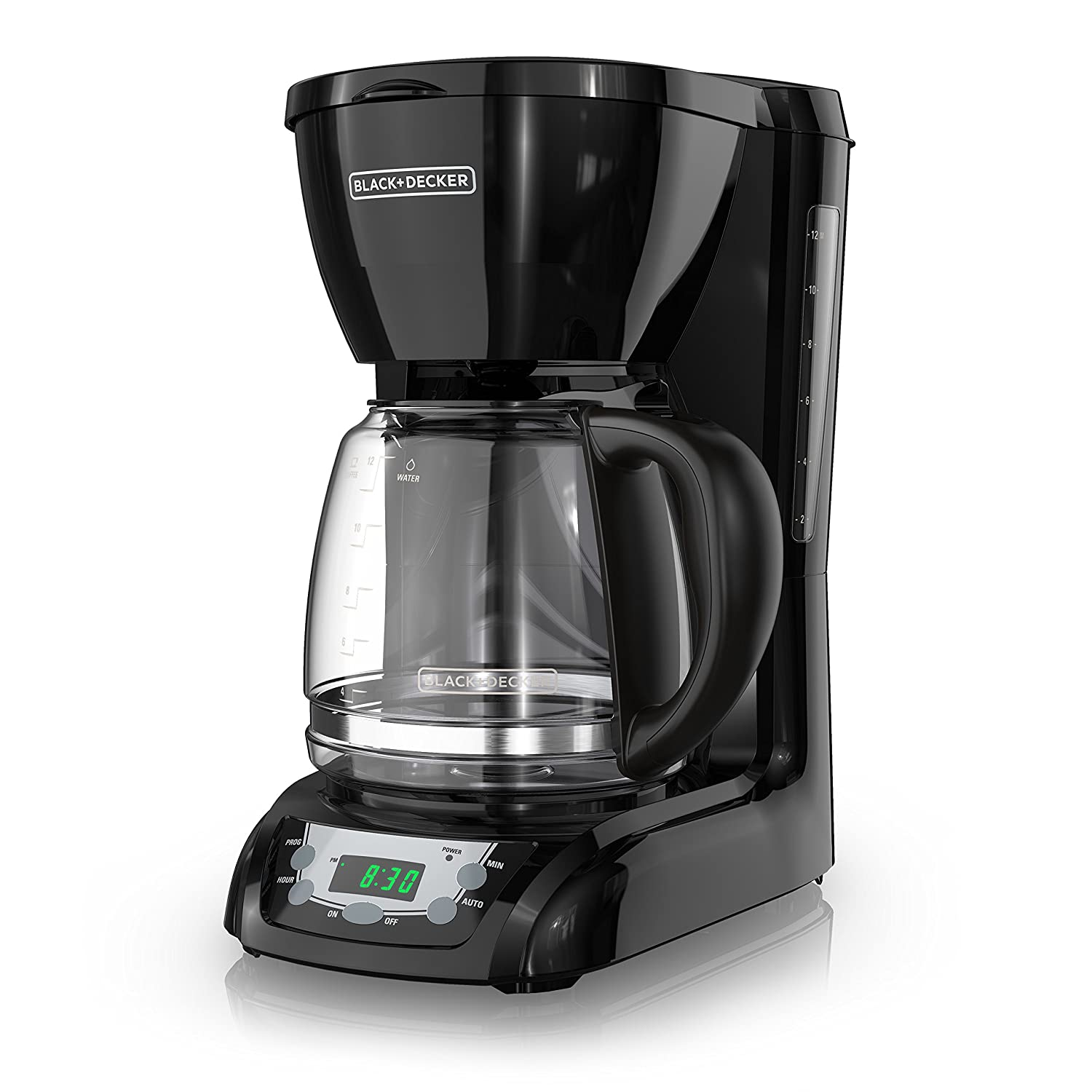 Black+Decker 12 Cup Programmable Coffeemaker, Black, Dlx1050 B by Black+Decker