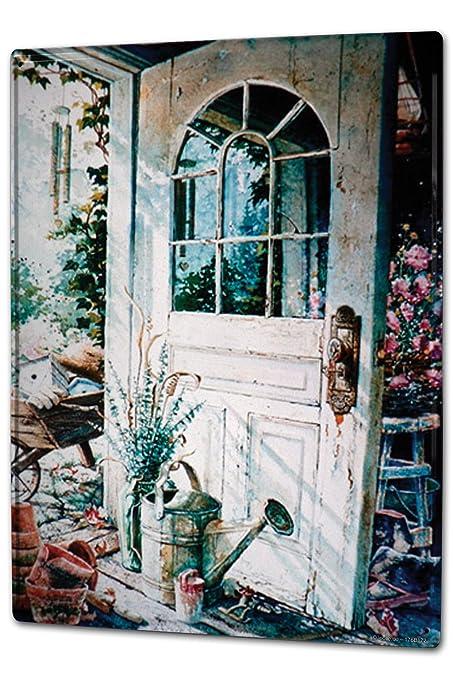 Cartel Letrero de Chapa XXL Retro caseta de jardín