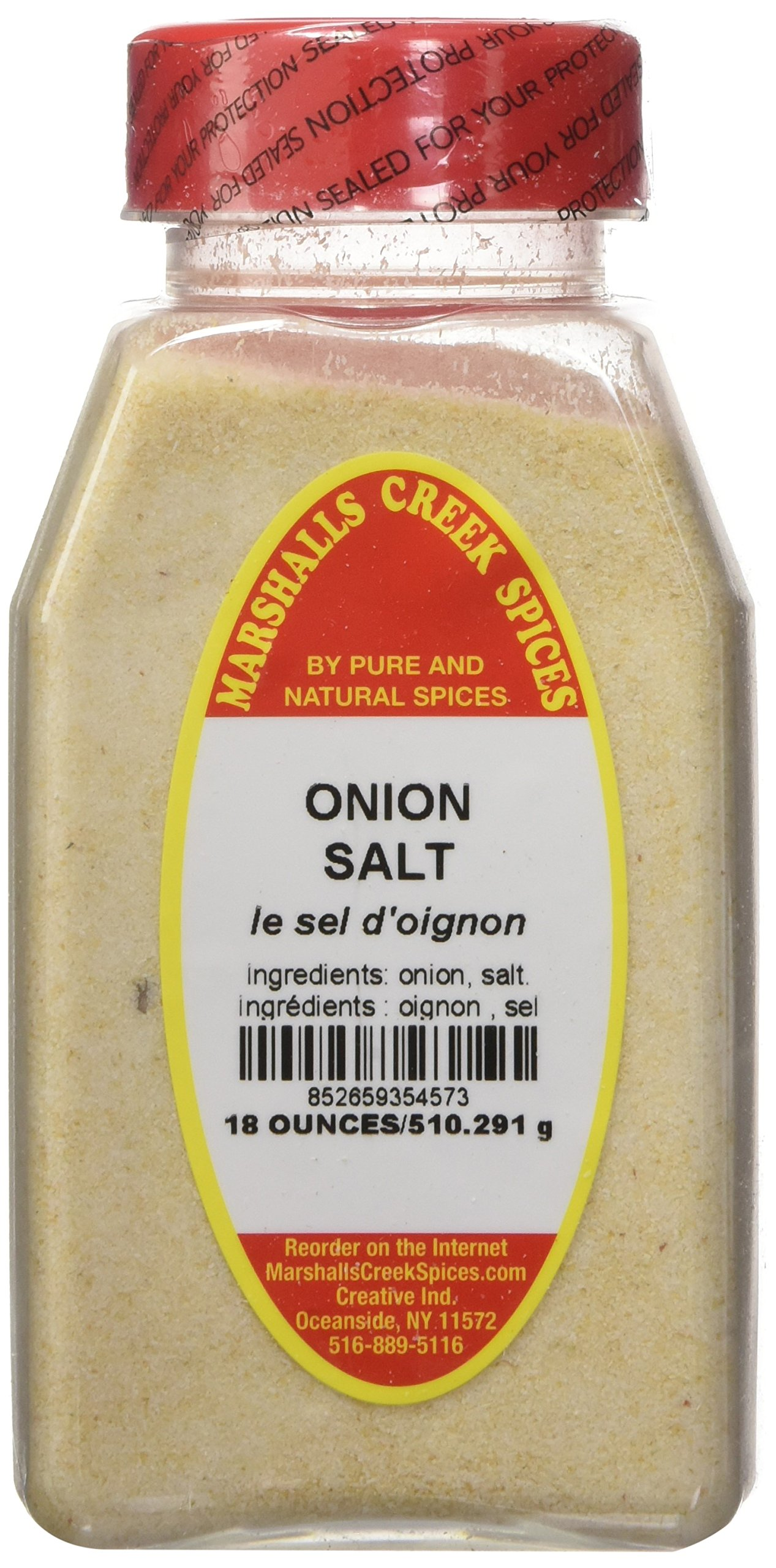 Marshalls Creek Spices Onion Salt, 18 Ounce