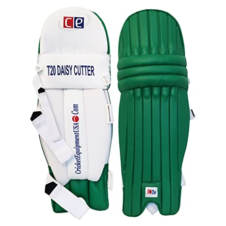 Amazon Com Ce T20 Daisy Cutter Green Leg Guards By Cricket
