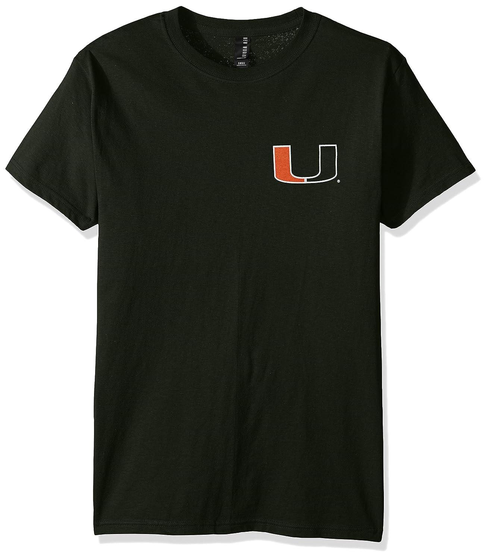 最も優遇 NCAAストライプNation半袖 Hurricanes Small Miami B01MY58GW7 Hurricanes Small B01MY58GW7, 祭の石やん:0f31d0fa --- a0267596.xsph.ru